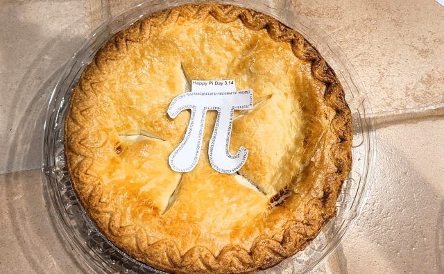 Happy PI Day! March 14th! PI Day!